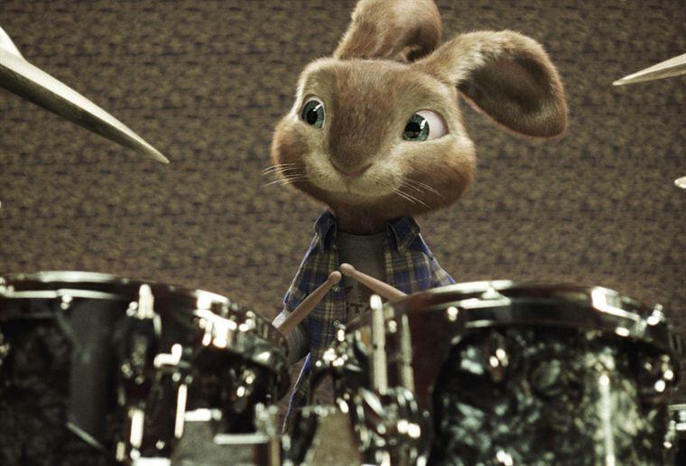 Robbie, lui, ne rêve que d'une chose : devenir batteur dans un groupe de rock