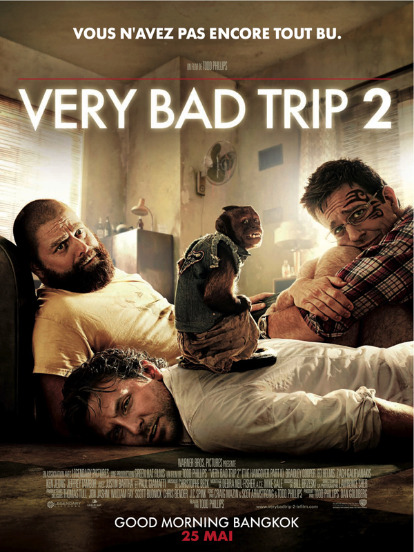 "Affiche du film ""Very bad trip 2"""