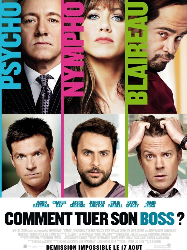 "Affiche du film ""Comment tuer son boss ?"""