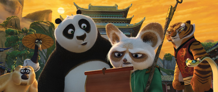L'heure est grave pour Maître Shifu et ses guerriers : c'est peut-être la fin du Kung-Fu !