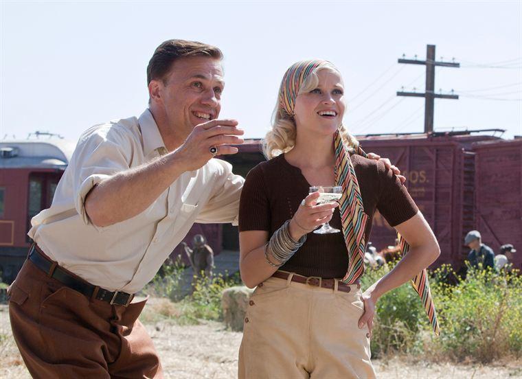 August (Christoph Waltz) et Marlène Rosenbluth (Reese Witherspoon), patron et écuyère du cirque Benzini