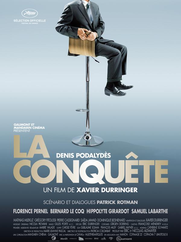 """Affiche de """"La conquête"""""""