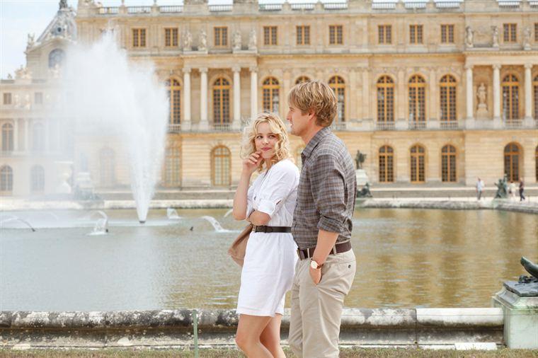 Escapade en amoureux à Versailles pour Inez (Rachel McAdams) et Gil (Owen Wilson)