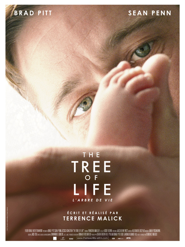 "Affiche du film de Terrence Malick ""The Tree of Life"""