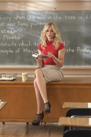Elizabeth Halsey (Cameron Diaz), une enseignante peu commune...
