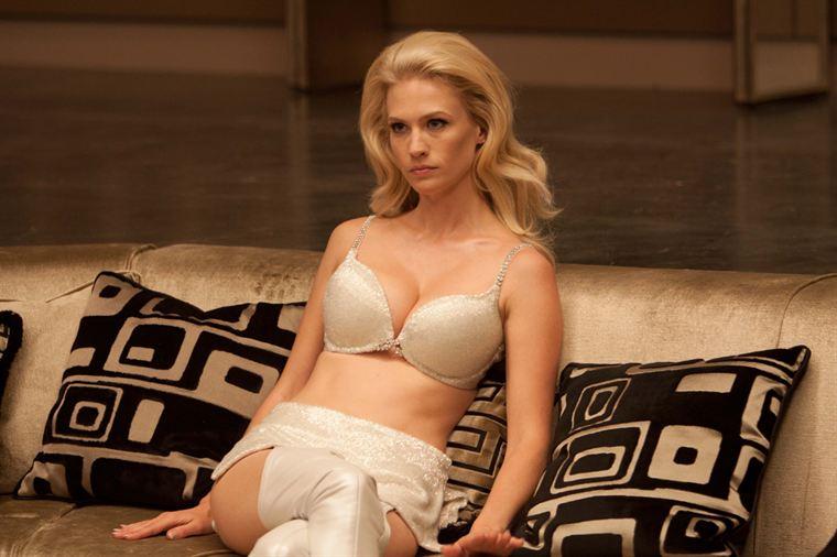 Emma Frost (January Jones) ne laissera personne de glace...