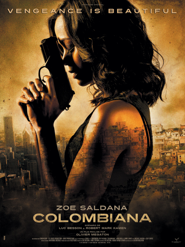 "Affiche du film ""Colombiana"""