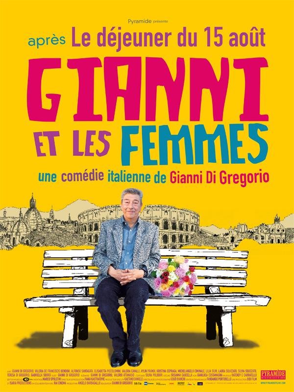 """Affiche du film """"Gianni et les femmes"""""""