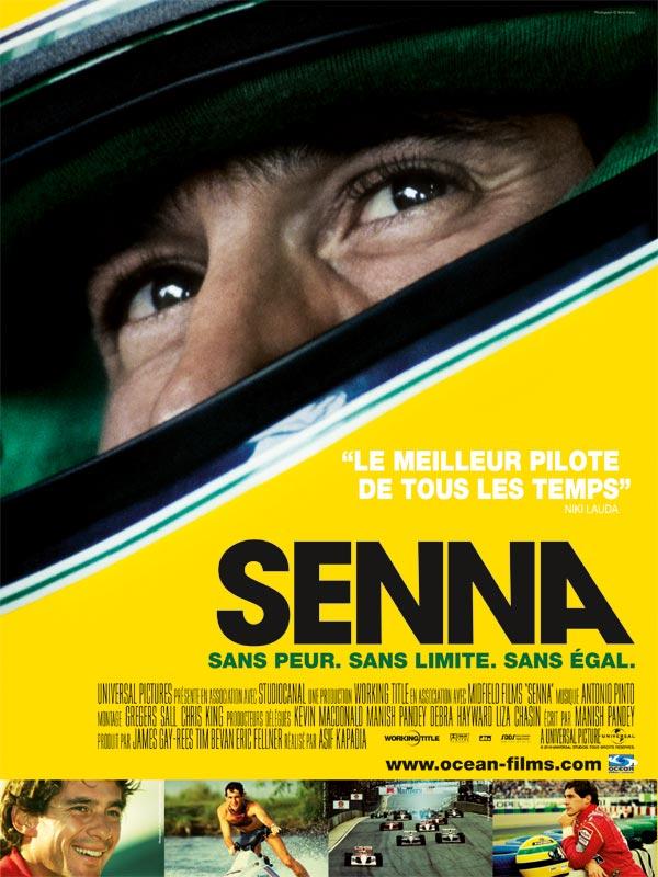 """Affiche du film """"Senna"""""""