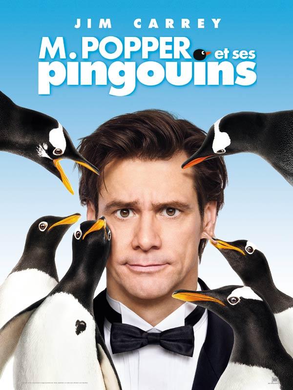 """Affiche du film """"Mr Popper et ses pingouins"""""""
