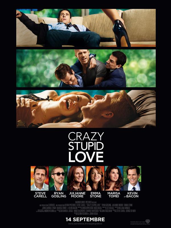 """Affiche du film """"Crazy, stupid, love"""""""