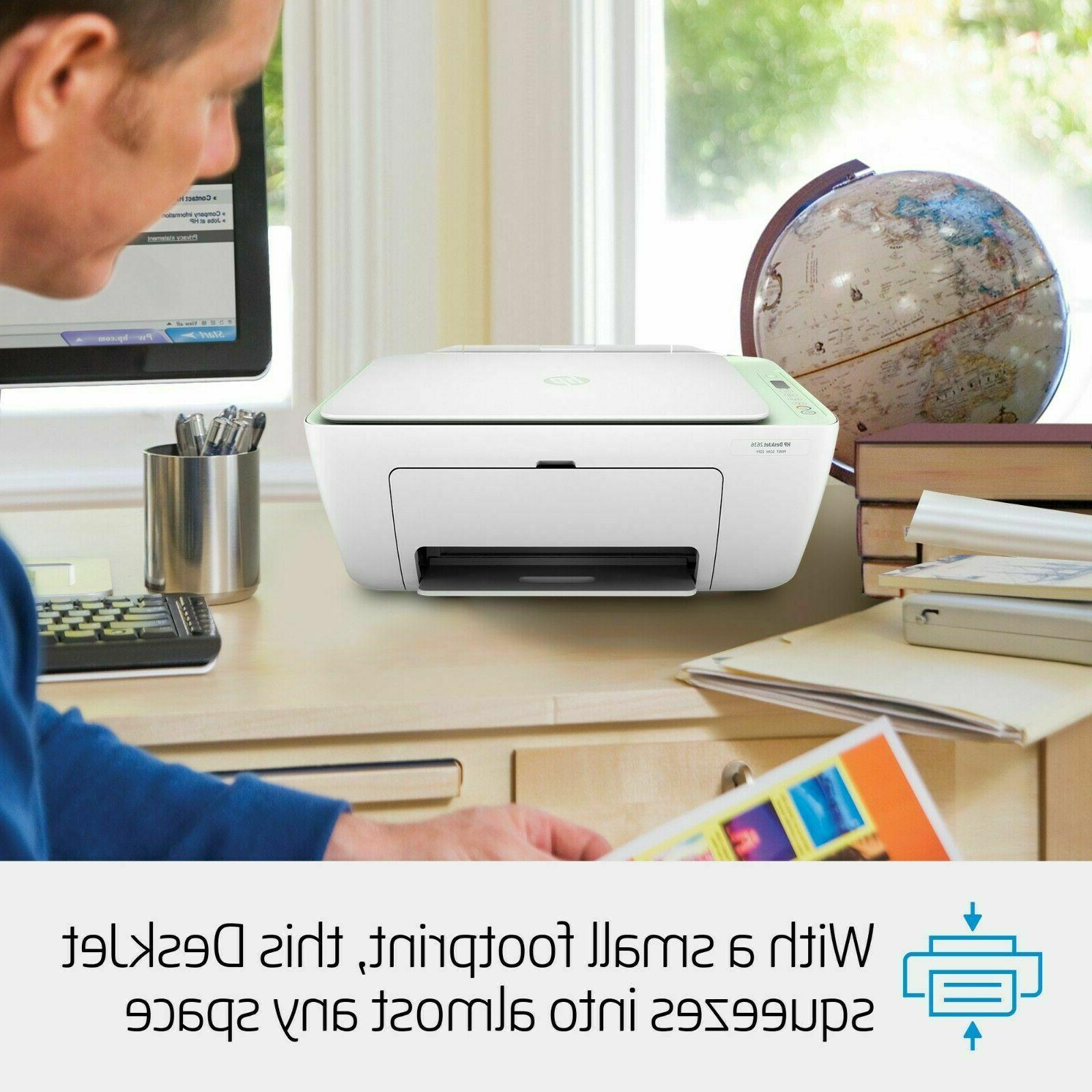HP 2636 Wireless Office Home All-in-One Printer Copier