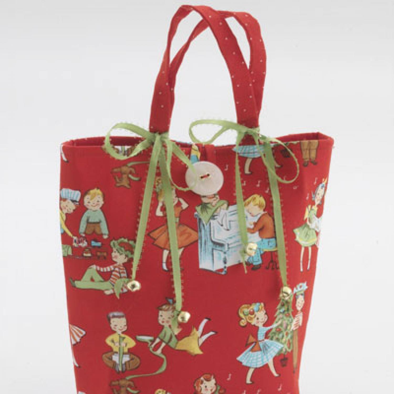 Fabric Gift Bag AllPeopleQuiltcom