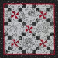 Three-Color Pinwheels | AllPeopleQuilt.com