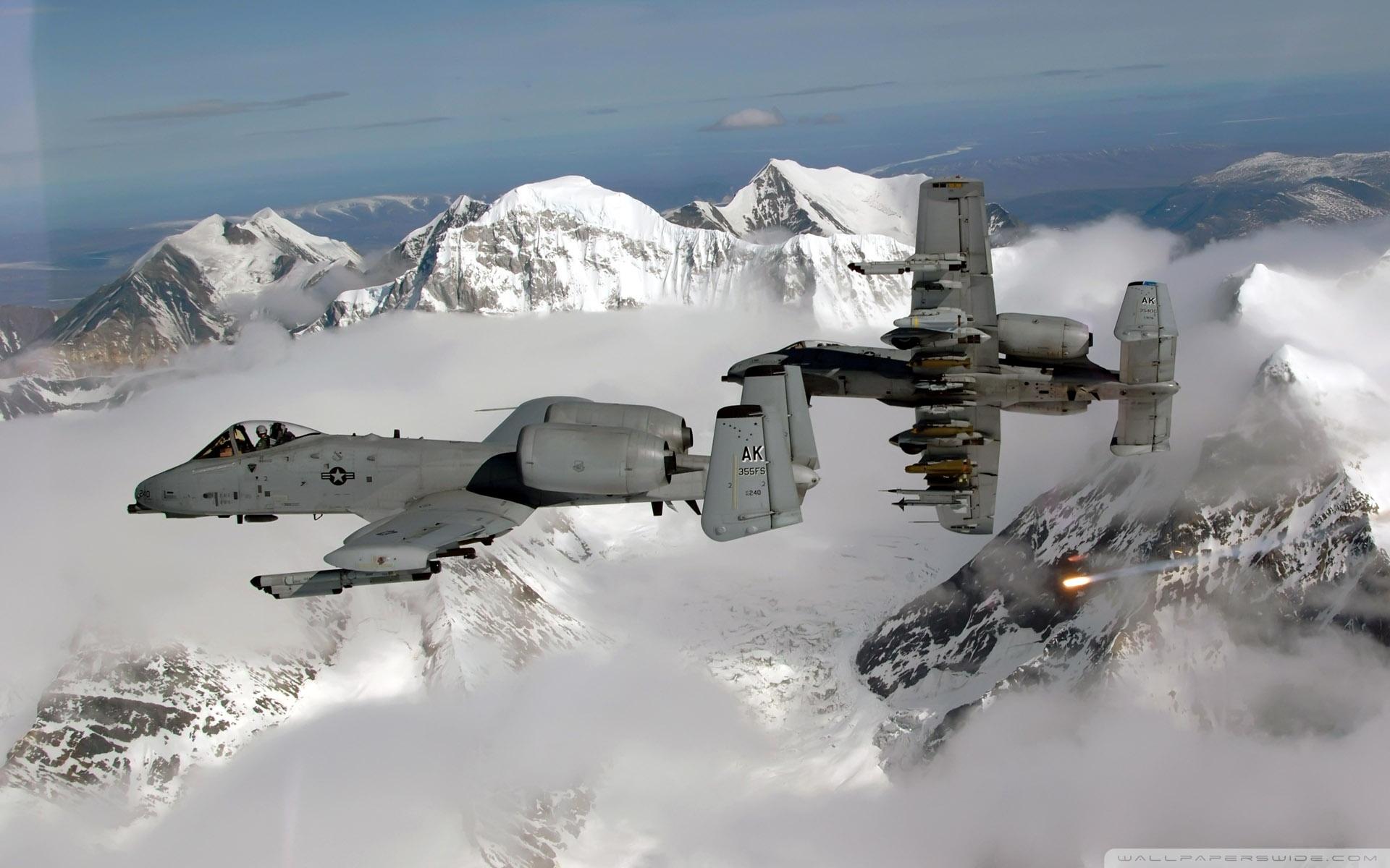 85 Fairchild Republic A10 Thunderbolt Ii Papéis De Parede
