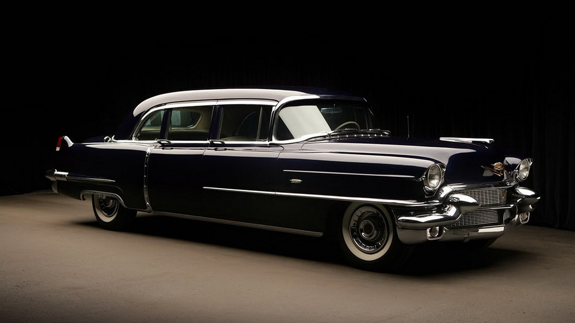 Old Cadillac Cars Hd Wallpapers 1956 Cadillac Fleetwood Series 75 Limousine Hd Wallpaper