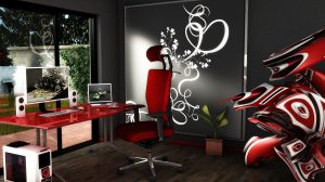 office 3d cool study wallpapers background modern backgrounds desktop wall computer workplace mystery resolutions 1freewallpapers abyss