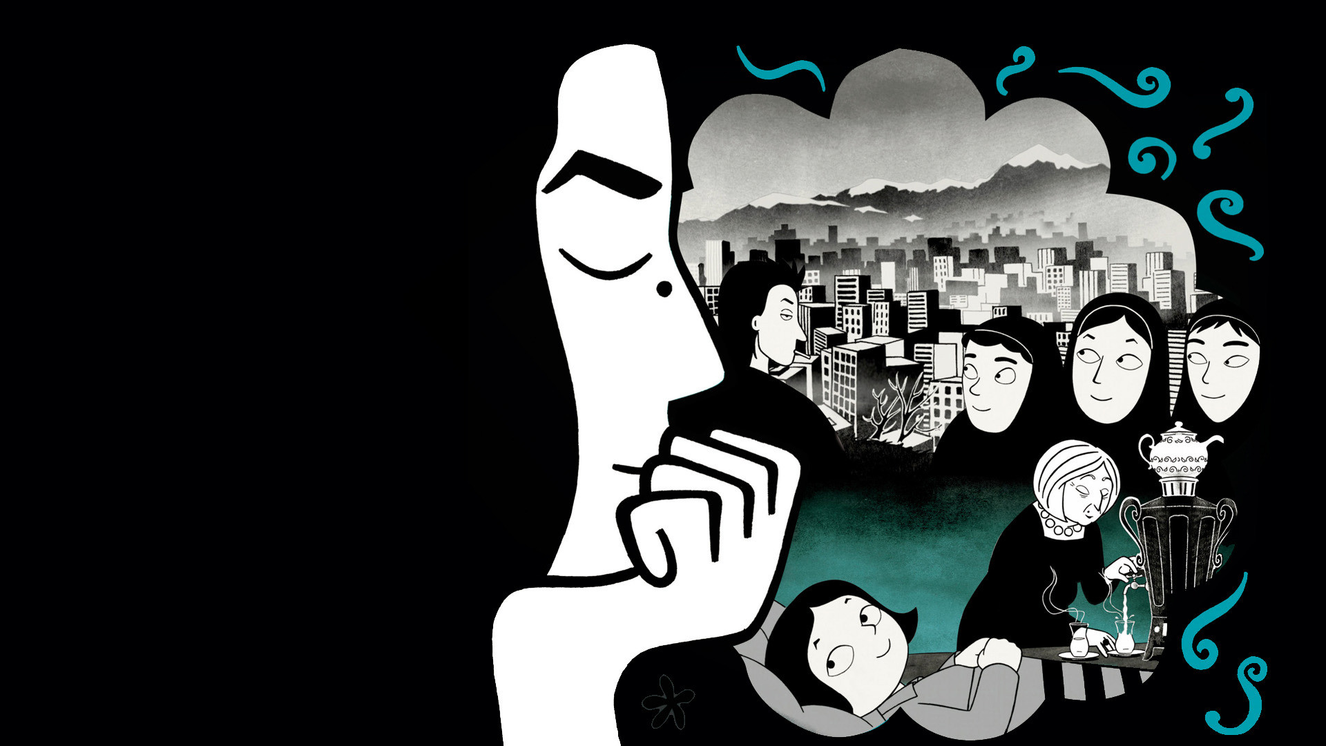 Based on her graphic novel of the same name persepolis is a stylized animated feature about marjane satrapi s coming of age against the backdrop of the