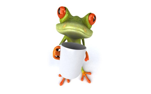 Coffee Frog Hd Wallpaper Background 1920x1200