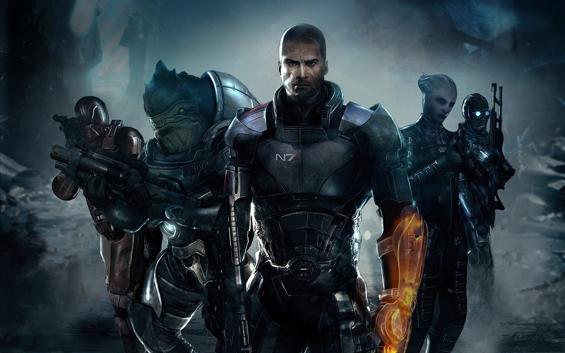 Mass Effect 3 Full Hd Wallpaper And Background Image