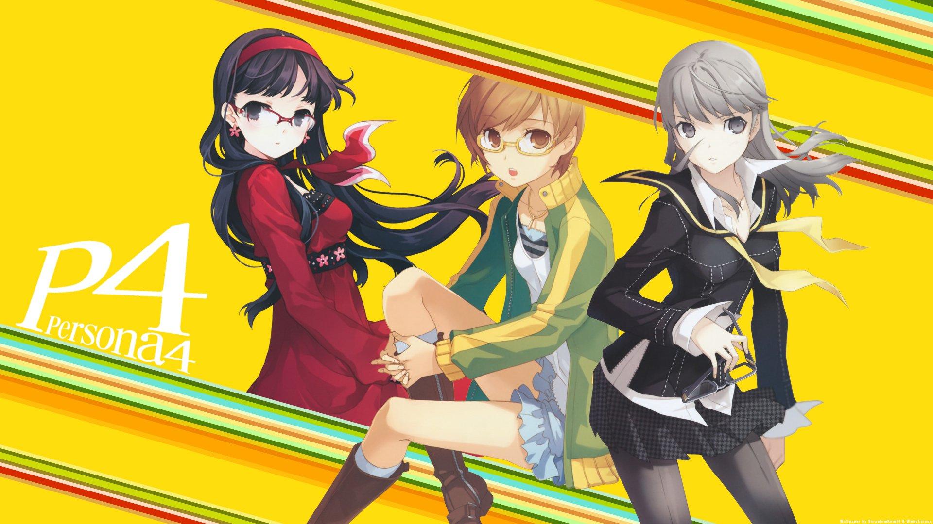 Persona 4 Cute Chie Wallpaper Persona 4 Hd Wallpaper Background Image 1920x1080 Id