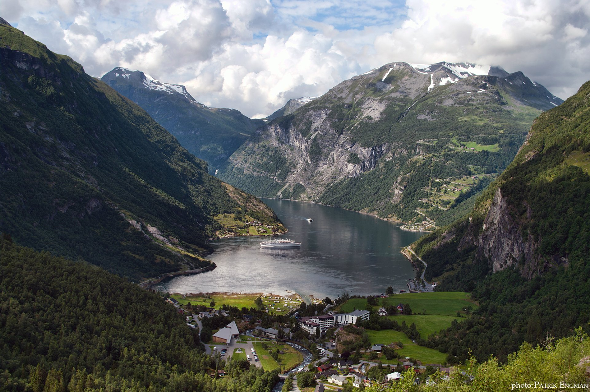 Geiranger Norway Full Hd Wallpaper And Background Image