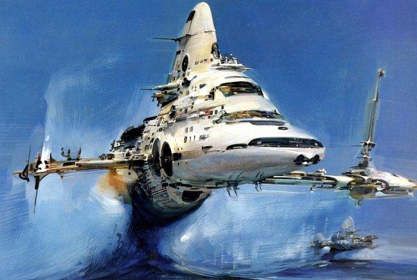 Spaceship 4k Ultra Hd Wallpaper Background