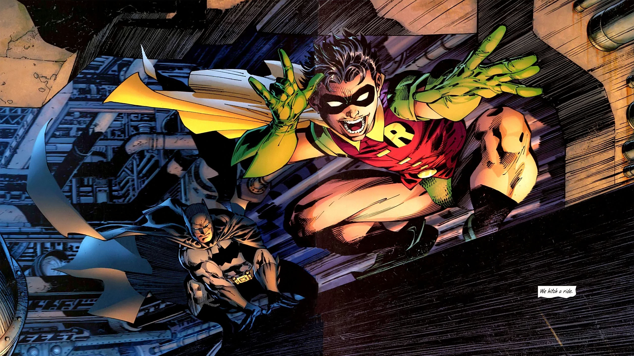 1 All Star Batman Amp Robin HD Wallpapers Backgrounds