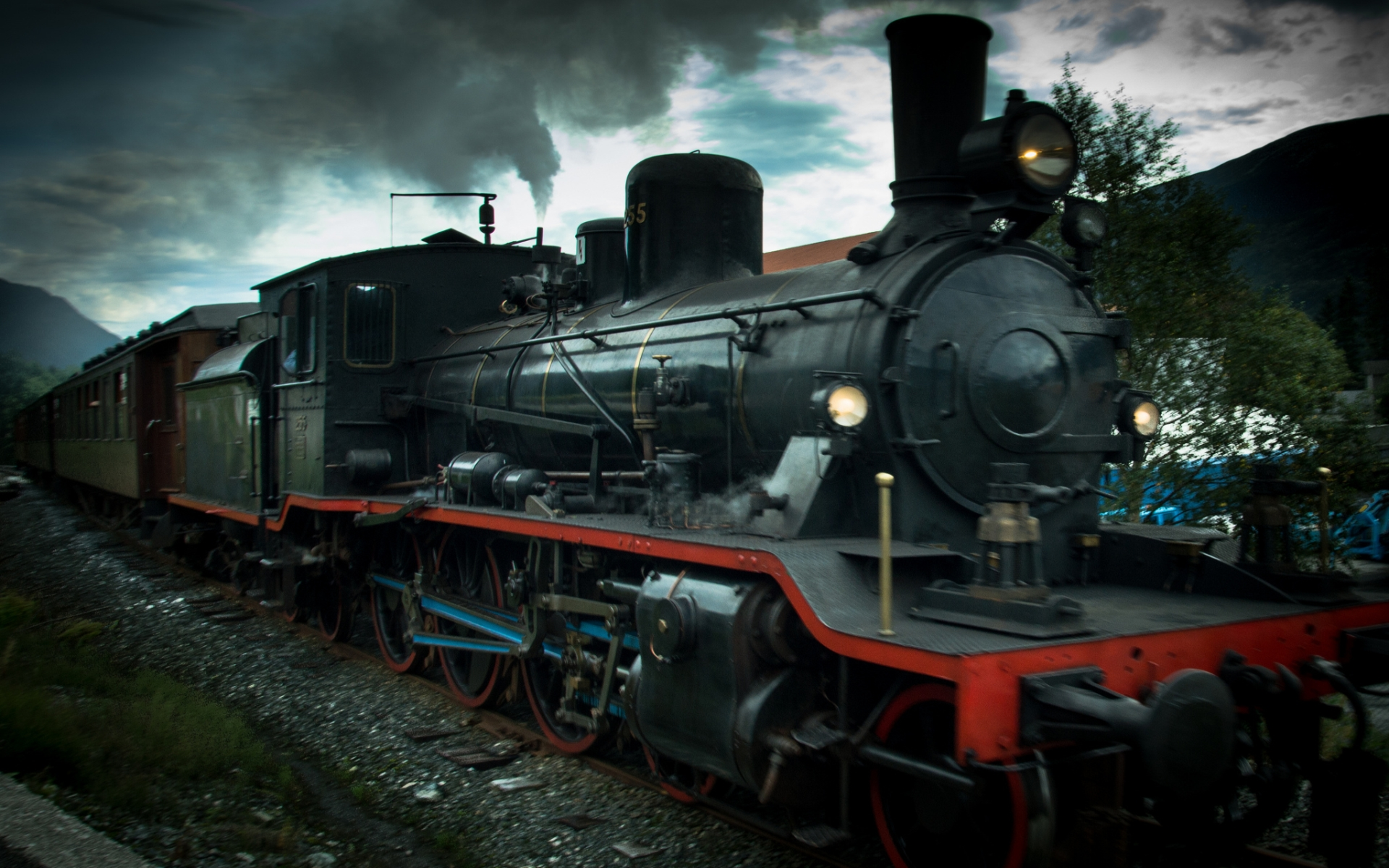 Steam Train HD Wallpaper  Background Image  1920x1200
