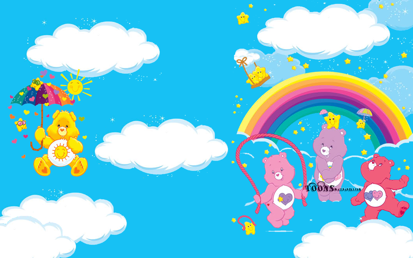 2560x1024 Hd Wallpaper The Care Bears 壁纸 And 背景 1440x900 Id 491798