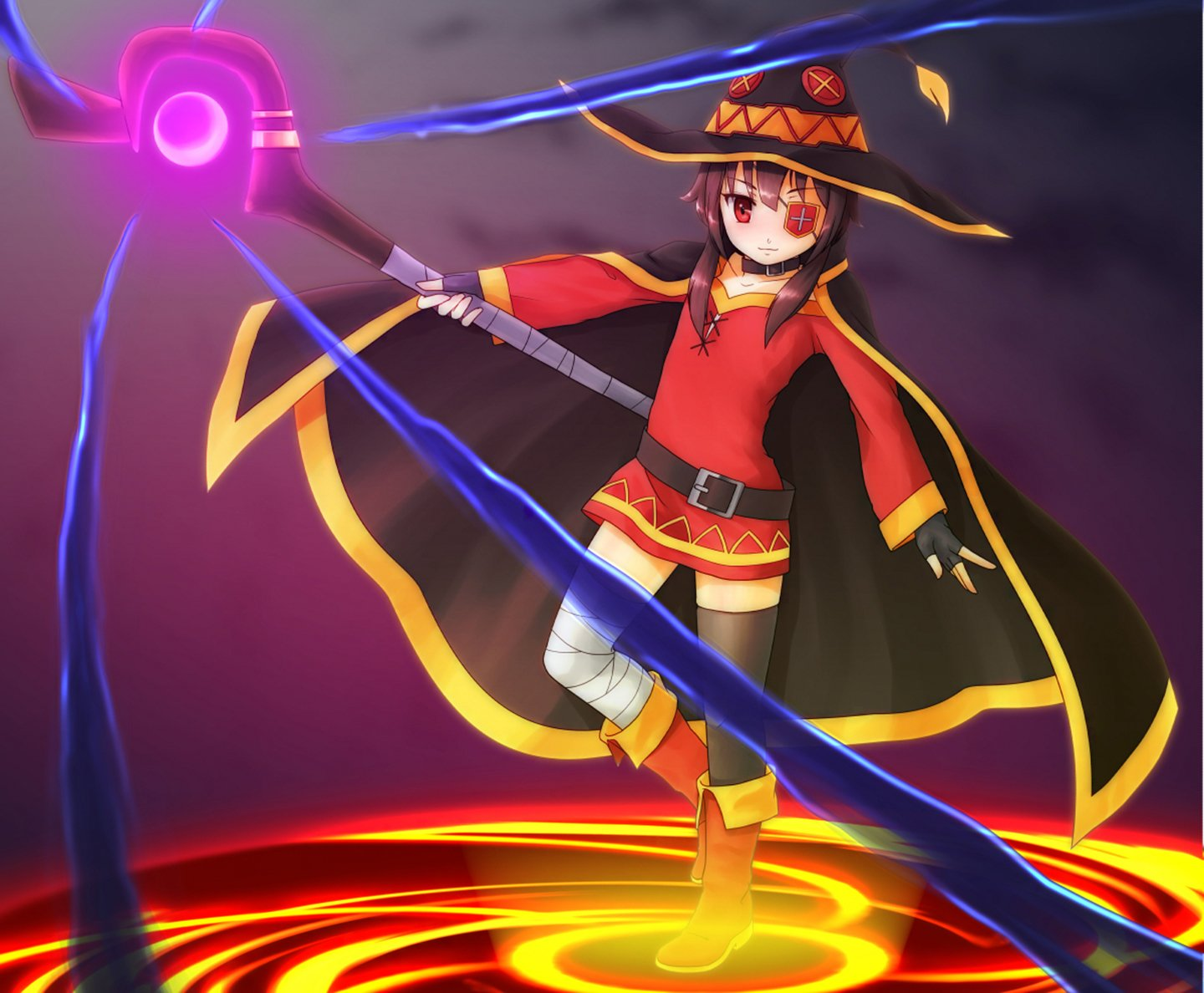 How To Use A Gif As A Wallpaper Iphone Megumin Wallpaper And Background Image 1440x1188 Id