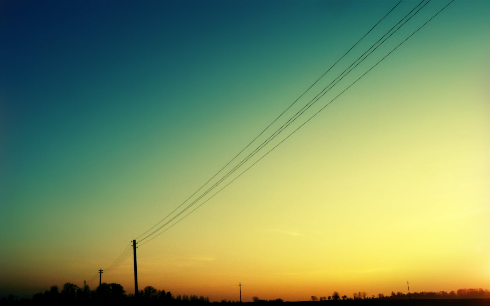 Grid Wallpaper Iphone X Power Line Wallpaper And Background Image 1680x1050 Id