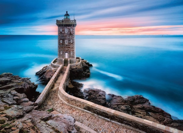 lighthouse sunset wallpaper