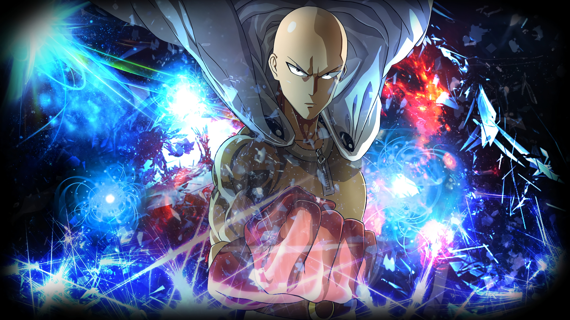 Find hd wallpapers for your desktop, mac, windows, apple, iphone or android device. One-Punch Man HD Wallpaper   Background Image   1920x1080 ...