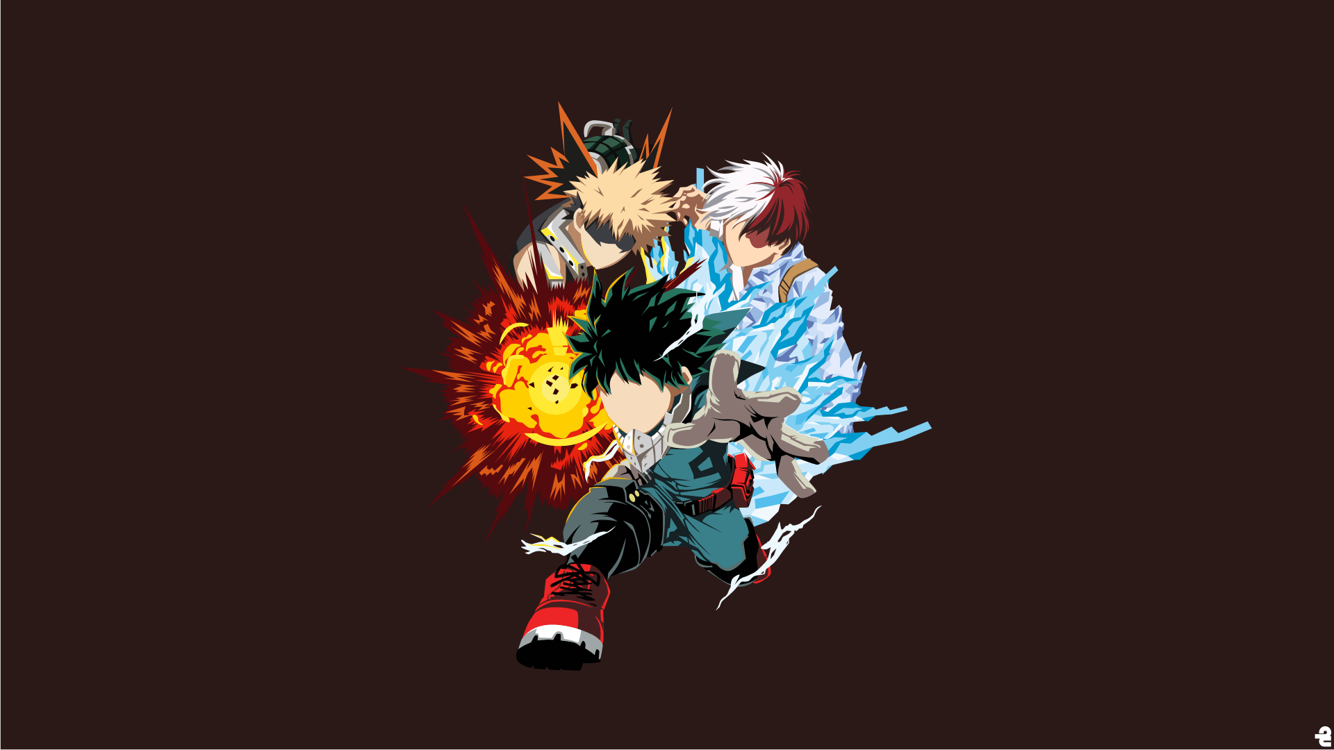I hope us sending in two request in one ask is fine! My Hero Academia HD Wallpaper | Background Image ...