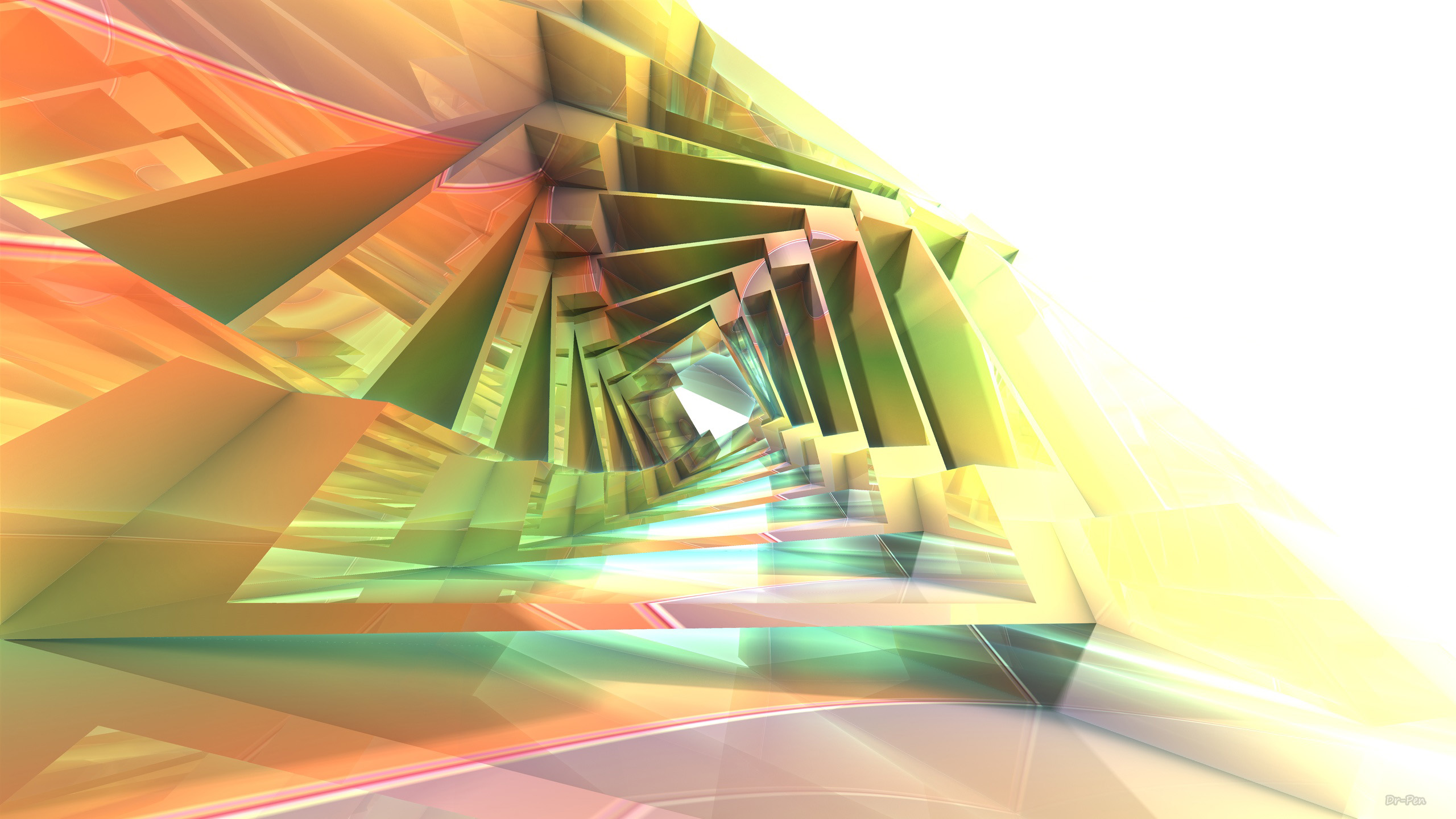 Blue Yellow 3d Hd Abstract Wallpaper 299 Geometry Hd Wallpapers Background Images Wallpaper