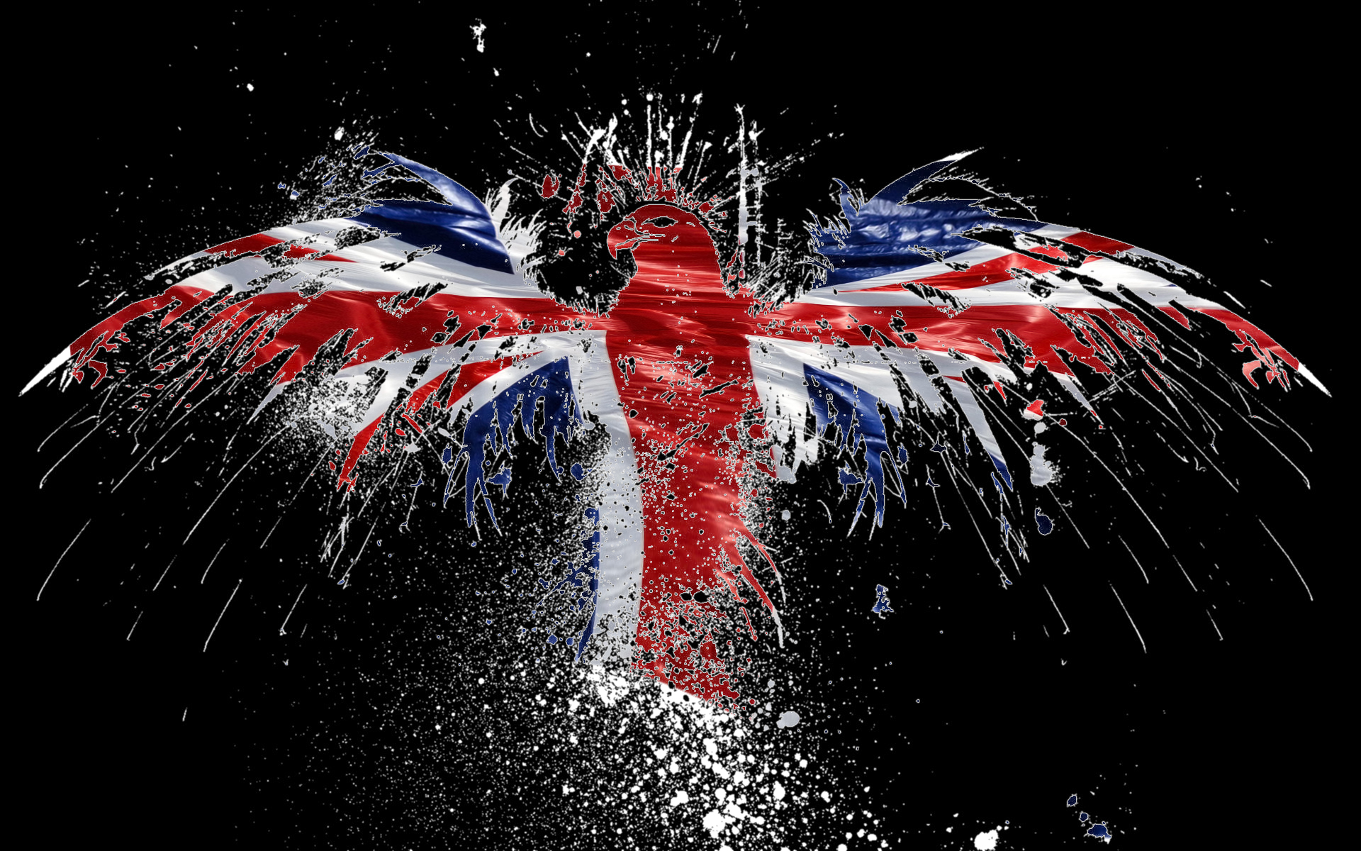 Union Jack Iphone Wallpaper Illusion Full Hd Wallpaper And Background Image