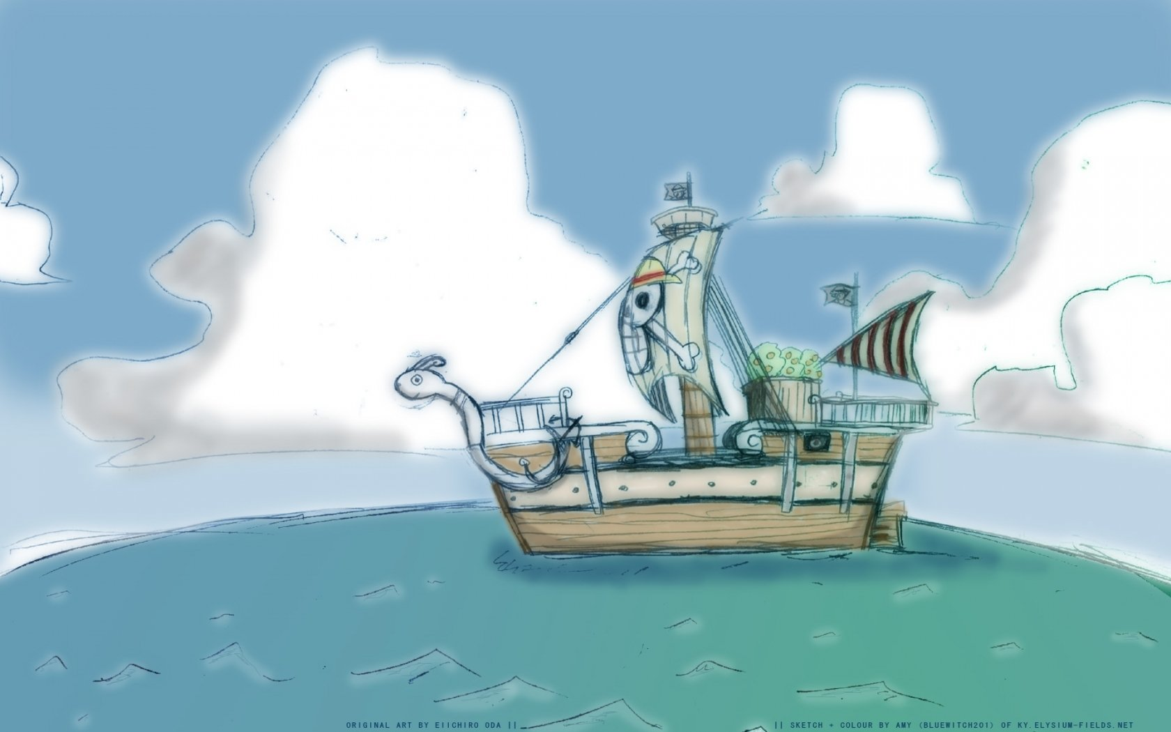 We may earn commission on some of the items you choose to buy. The going merry Wallpaper and Background Image | 1680x1050 ...