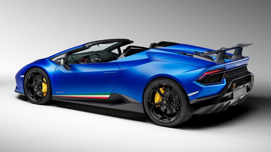 2018 Lamborghini Huracan Performante Spyder HD Wallpaper ...