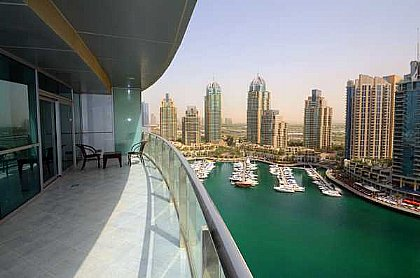 outdoor kitchen fridge table centerpiece 1 bedroom apartment in dubai marina | alpha holiday lettings