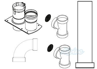 Crown Boiler Company 230595 PVC Venting Kit for Crown BWC