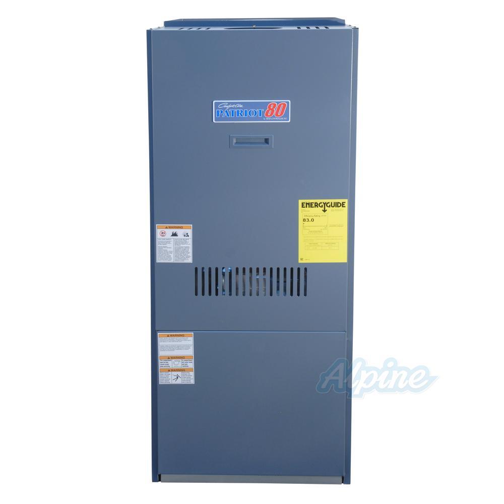 hight resolution of comfort aire oufb125 d5 2a highboy upflow 135 000 151 000 input btu oil furnace