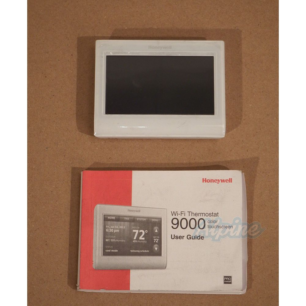 Honeywell TH9320WF5003 Item No 619852 WiFi 9000 Color Touchscreen 3 Stage Heat 2 Stage Cool Digital Thermostat
