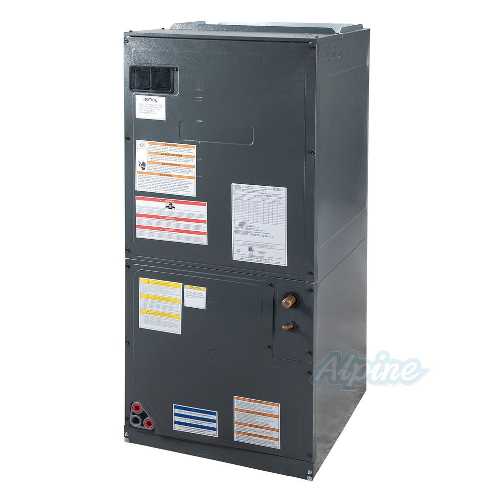 hight resolution of goodman aspt37c14 3 ton standard multi positional air handler