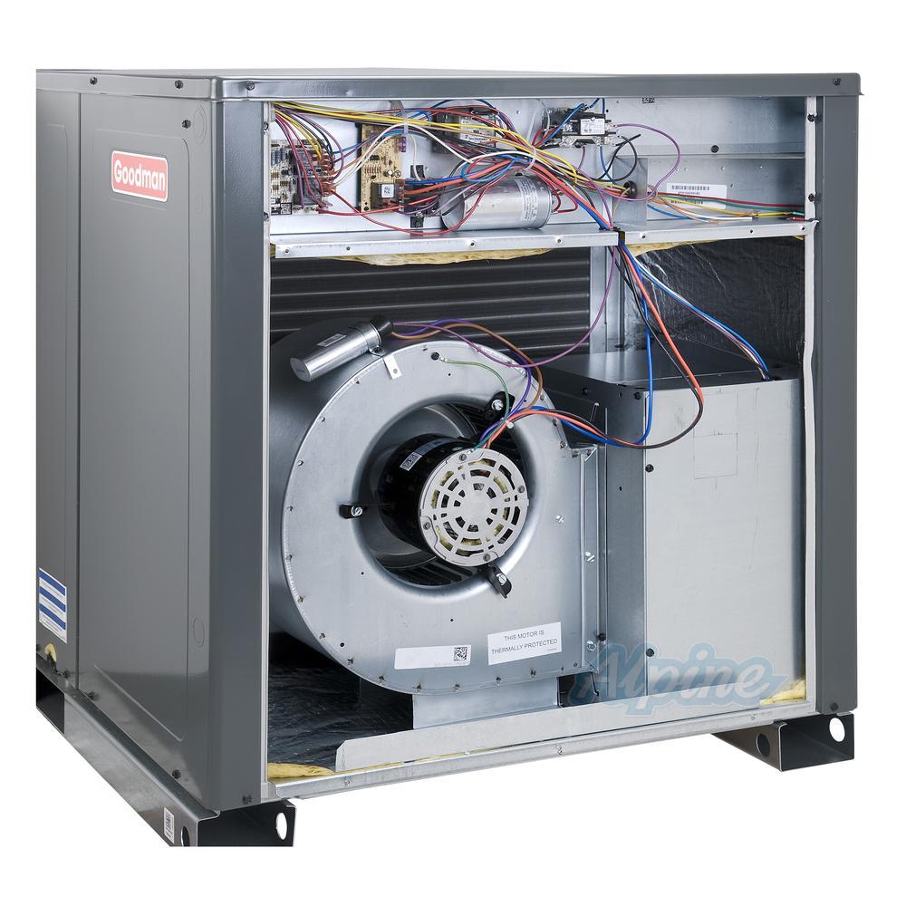 goodman wiring diagram 2007 honda civic fuse box gph1436h41 3 ton 14 seer self contained packaged heat pump view all photos