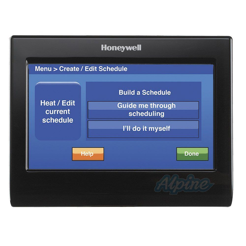 Honeywell TH9320WFV6007 WiFi 9000 Voice Control Color Touchscreen 3 Stage Heat 2 Stage Cool Digital Thermostat