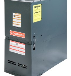goodman gdh81005cn 100 000 btu furnace 80 efficiency 2 stage burner 2 000 cfm multi speed blower dedicated downflow application [ 2268 x 2920 Pixel ]
