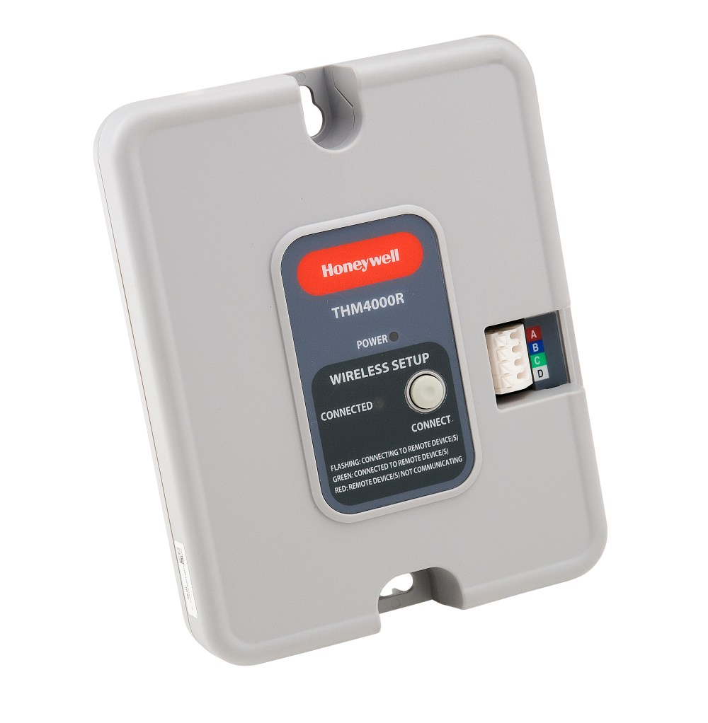medium resolution of honeywell thm4000r1000 wireless adapter for use with honeywell truezone and truesteam products
