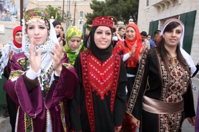 صور لعرس فلسطيني في بيت لحم