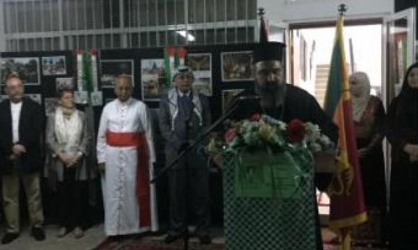 سفارة فلسطين في سريلانكا تحتفل بالأعياد المسيحية المجيدة